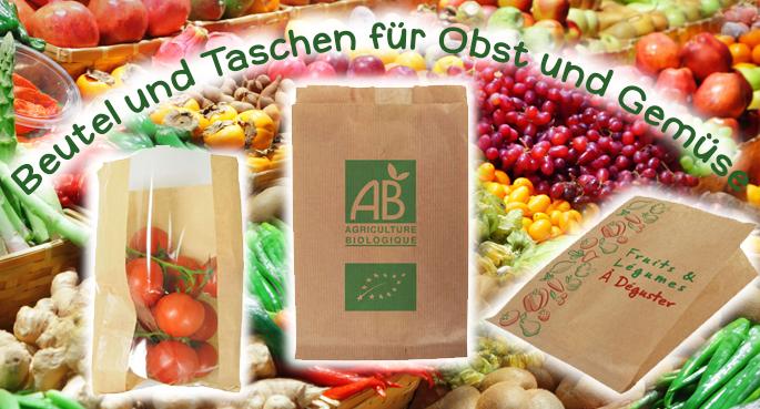 Verpackung für Obst & Gemüse