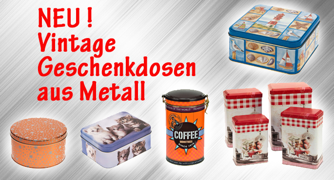 Neu 2019: Metallboxen