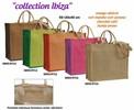 Shopper Jute IBIZA zweifarbig  45xB.20xH.40 cm : Ladentaschen einkaufstaschen