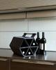 Zebag ® Weintasche – faltbarer Weinregal für 6 Flaschen 75 cl. : Verpackung fur flaschen und regionalprodukte