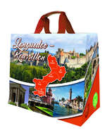 Shopper Einkaufstasche 33L PP bedruckt 'Occitanie' : Ladentaschen einkaufstaschen