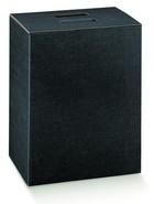 Flaschenkarton schwarz 6-Flaschen 'Milano' : Verpackung fur flaschen und regionalprodukte