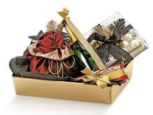 Geschenkkorb Pappe viereckig gold : Korb geschenkkorb präsentierungskorb