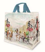 Shopper PP 30L. 'Aquarell' : Ladentaschen einkaufstaschen