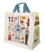 Shopper PP 30L. 'Frankreich' : Ladentaschen einkaufstaschen