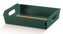 Präsentkörbe aus Karton 400 x 300 x 120 mm                                                           : Korb geschenkkorb präsentierungskorb