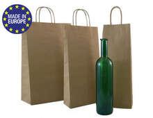 Kauf Flaschentasche Kraft braun 1/2/3-Flaschen K.libag