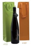 Geschenktasche 1-Flasche bunt Glanzlack : Verpackung fur flaschen und regionalprodukte