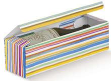 Carton 1 bouteille Multicolore : Verpackung fur flaschen und regionalprodukte