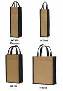 Vliestasche für 1/2/3 Flaschen 75cl o. 1-Flasche Magnum 150 cl : Verpackung fur flaschen und regionalprodukte