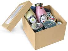 Lot de 2 Boites Pandore - Fenêtre couvercle : Geschenkschachtel präsentbox