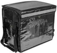 Isotasche Rucksack 4eckig Speiselieferung schwarz : Ladentaschen einkaufstaschen modetaschen