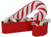 Sucre d'orge rouge et blanc : Geschenkschachtel präsentbox