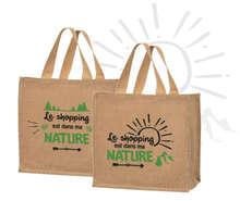 """Sacs cabas jute """"Nature"""" : Ladentaschen einkaufstaschen"""