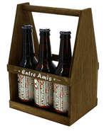 Serviteur 6 bières  : Verpackung fur flaschen und regionalprodukte