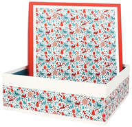 Boite Coffret  Carton Laponie  : Verpackung für feste