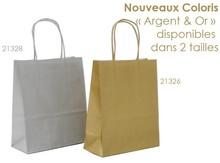 Papiertasche gold/silber : Recherche