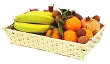 Corbeille Bambou Sarlat rectangle PM : Korb geschenkkorb präsentierungskorb