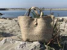 Modetasche Korbtasche Joan Rich 'Patagonia' : Ladentaschen einkaufstaschen modetaschen