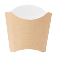 Boîtes à frites standard  'thepack'  naturel  : Events, catering