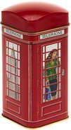 Metallbox 4-eckig Tee 'PHONE BOX' : Geschenkschachtel präsentbox