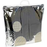 Iso-Tasche mit Print gold/weiss : Ladentaschen einkaufstaschen modetaschen