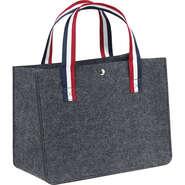 Tragetasche Filz dunkelgrau : Ladentaschen einkaufstaschen modetaschen