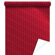 Papier cadeaux métallisée  Xmas Gifts rouge  : Verpackungzubehör