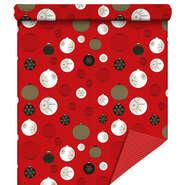 Papier cadeaux  Holly rouge  :