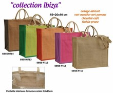 Collection jute IBIZACollection jute IBIZA 450+200X400 mm :