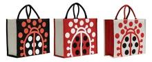 Shopping Tasche Jute Marienkäfer : Ladentaschen einkaufstaschen