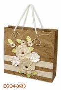 Geschenktasche Handkraft Herbstblüten : Ladentaschen einkaufstaschen modetaschen