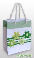 Geschenktasche Handkraft Frühlingsblüten : Ladentaschen einkaufstaschen modetaschen