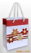 Geschenktasche Handkraft Sommerblüten : Ladentaschen einkaufstaschen modetaschen