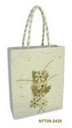 Geschenktasche Handkraft Natur : Ladentaschen einkaufstaschen modetaschen