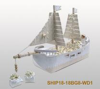 Dragees Spender Schiff : Verpackung für feste