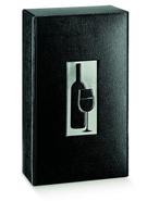 Geschenkkiste Wein 1/2/3 Flaschen schwarz : Verpackung fur flaschen und regionalprodukte
