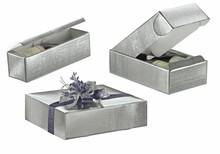 Geschenkkiste silber 1/2/3 Flaschen : Verpackung fur flaschen und regionalprodukte