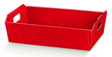 Geschenkkorb Pappe viereckig rot : Korb geschenkkorb präsentierungskorb