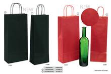 Kauf Geschenktasche Pappe gerippt 1/2-Flaschen Wein