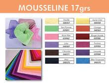 Seidenpapier 17gr/m2 farbig : Verpackungzubehör