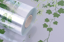 Rolle Klarsichtfolie PP m.Motiv 'grüner Efeu' : Verpackungzubehör