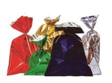 Flachbeutel PPmetallisiert farbig - 50St. : Verpackungzubehör
