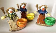 2 Entenfigur + Schale für Ostereier : Verpackung für feste