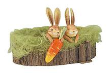Geschenkkörbchen Hasen : Verpackung für feste