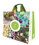 Shopper Einkaufstasche 30L PP gedruckt Obst u. Gemüse : Ladentaschen einkaufstaschen modetaschen