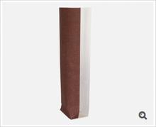 Klarsichtbeutel Kreuzboden PP o. Zellglas bedruckt Jute braun : Verpackung für bäkerei konditorei