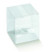 Faltschachtel Klarsicht Cube : Geschenkschachtel präsentbox