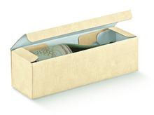 Weinkarton 1-Flasche beige   : Verpackung fur flaschen und regionalprodukte