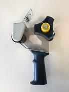Handabroller für Klebeband B50mm schwarz : Verpackungzubehör